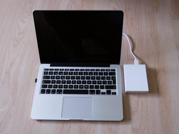 Backup vom MacBook auf externe Festplatte mit Time Machine