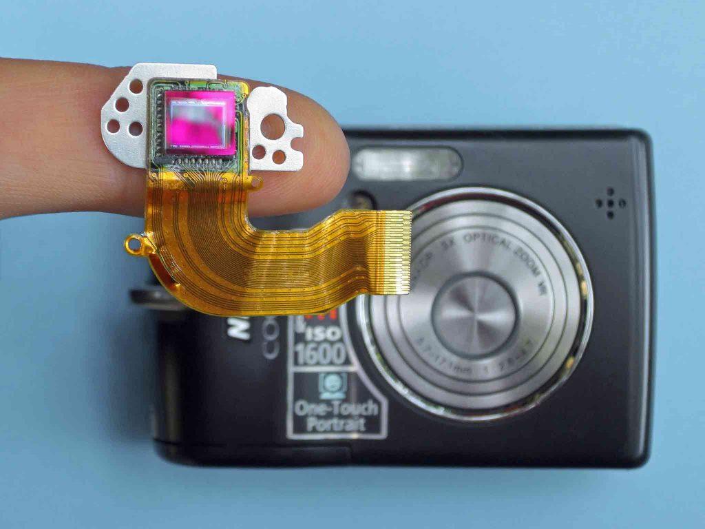 CCD-Sensor Digitalkamera